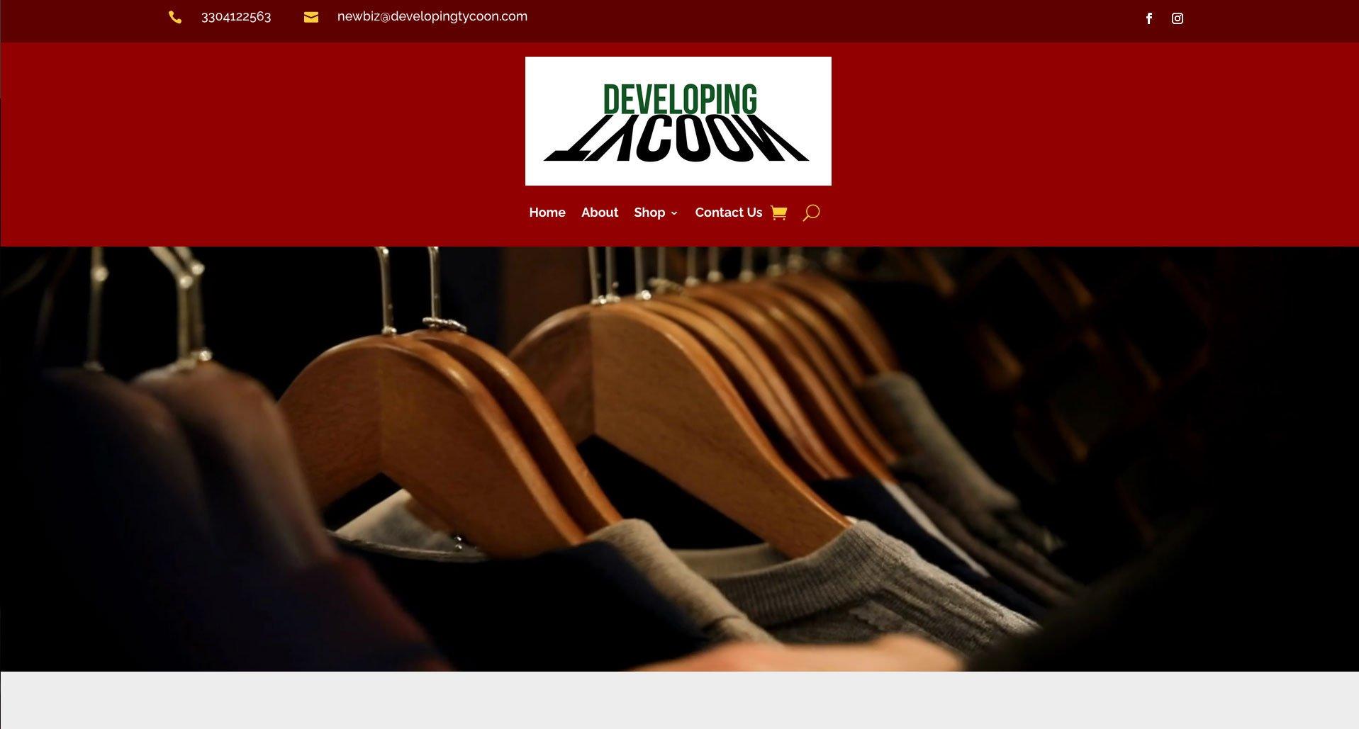 cleo homepage screenshot